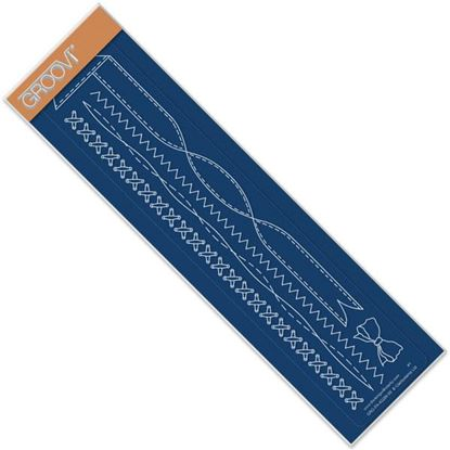 Picture of Ribbon & Stitching Groovi Border Plate