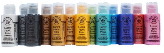 Picture of Cosmic Shimmer Fabric Paints