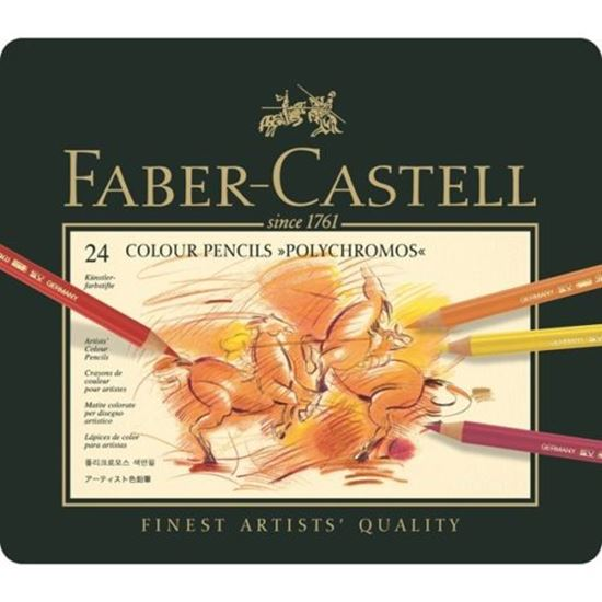 Picture of Faber Castell Polychromos Artist Pencils 24