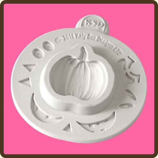 Picture of Katy Sue Designs Embellishment Mould -  Pumpkin Face