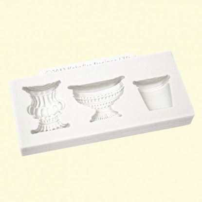Picture of Katy Sue Embellishment Moulds - Pots & Urns