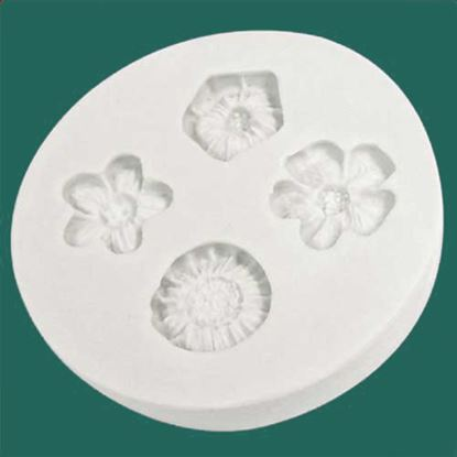Picture of Katy Sue Embellishment Moulds - Little Flowers