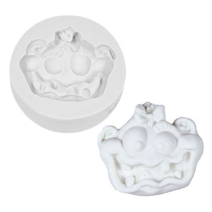 Picture of Katy Sue Design Cupcake Mould - Messy Monster Girl