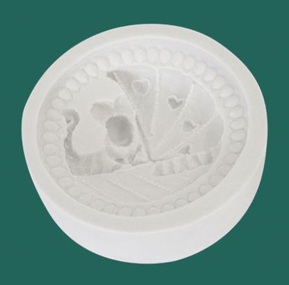 Picture of Katy Sue Designs Cupcake Mould - Pram