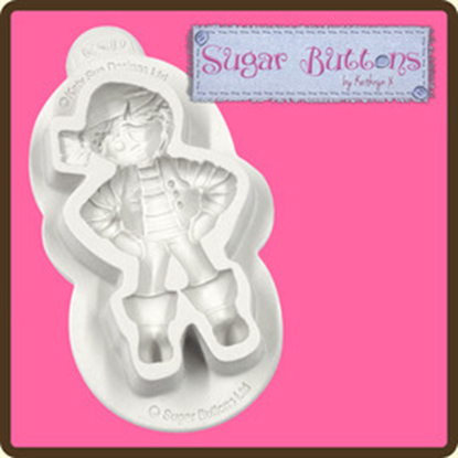 Picture of Katy Sue designs Sugar Button Moulds - Pirate