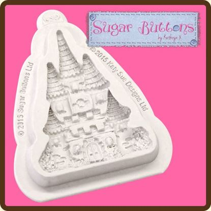Picture of Katy Sue Sugar Buttons Mould - Castle
