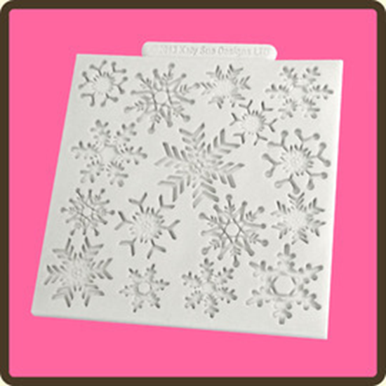 Picture of Katy Sue Design Mat - Snowflakes