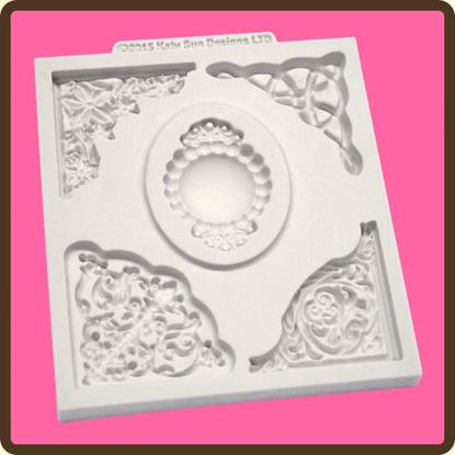 Picture of Katy Sue Designs Mould - Decorative Corners