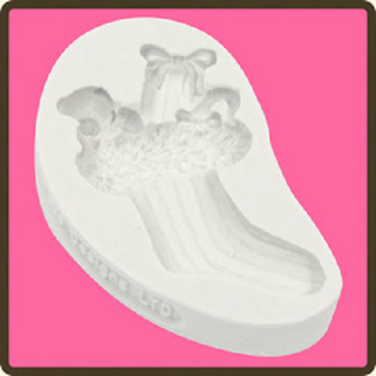 Picture of Katy Sue Embellisment Mould - Christmas Stocking