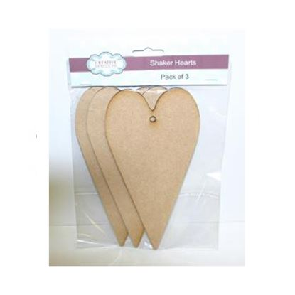 Picture of Mdf Shaker Hearts