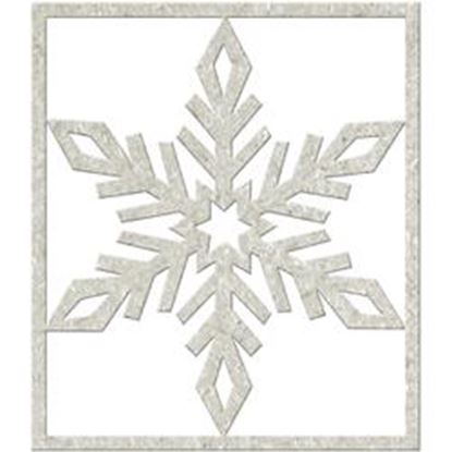 Picture of Chipboard Die Cuts - Big Snowflake