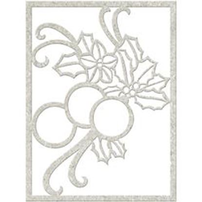 Picture of Fabscraps Chipboard Die Cuts - Holly Balls
