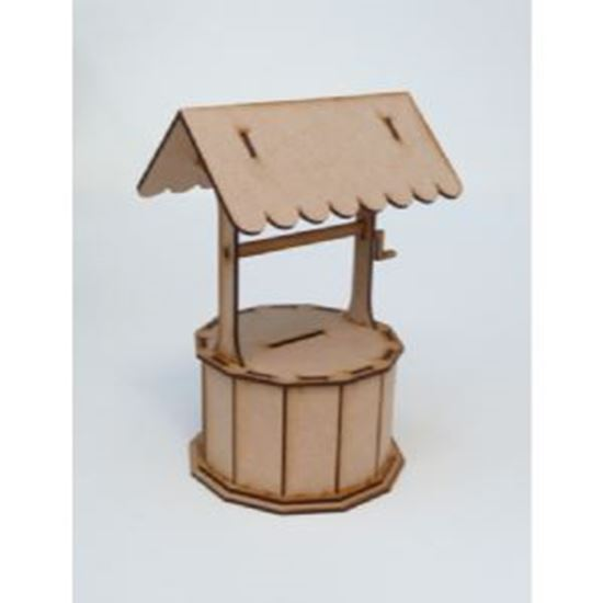 Picture of MDF Wishing Well Money Box