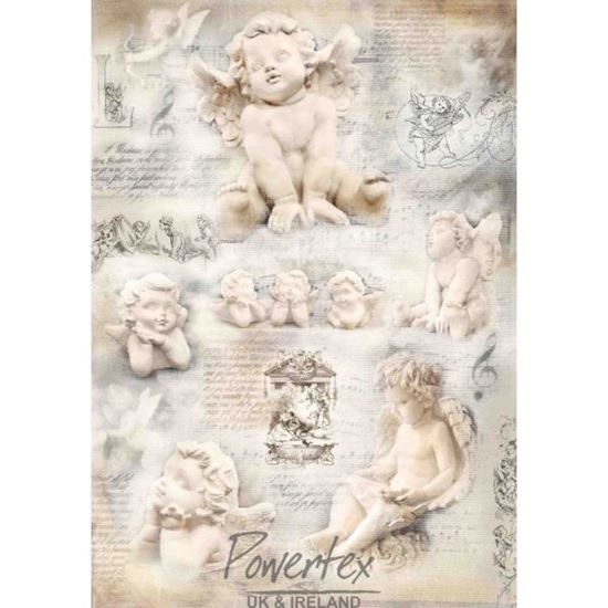 Picture of Powertex Silk Paper - Angels