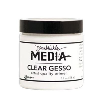 Picture of Dina Wakley Clear Gesso 4oz