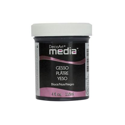 Picture of Deco Art Media Gesso Black - 4oz