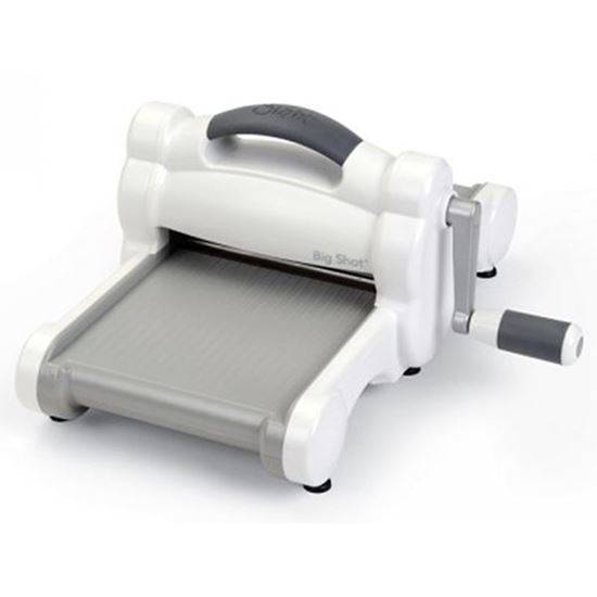 Sizzix Big Shot machine - Grey & white