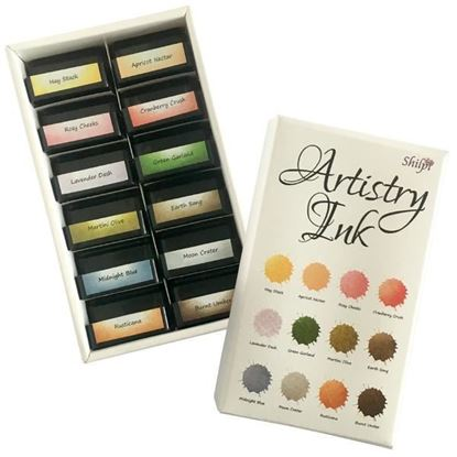 Artistry Mini Ink Pad Set - Hay Stack