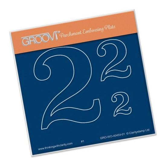 Open Number 2 Groovi A6 Square