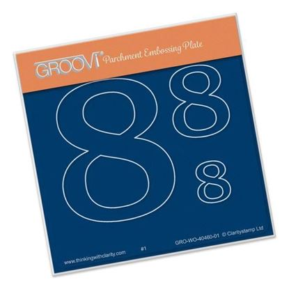 Open Number 8 Groovi A6 Square