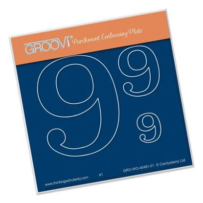 Open Number 9 Groovi A6 Square