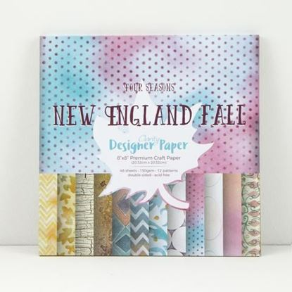 """8"""" x 8"""" Four Seasons Collection - New England Fall"""