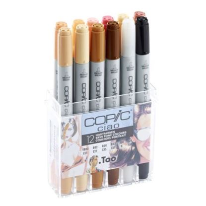 Copic Ciao Skin Tones Assorted