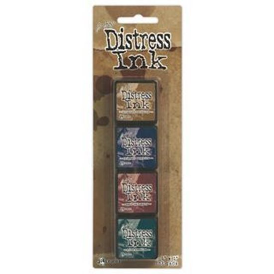 Tim Holtz Distress Ink Pad Mini Kit 12