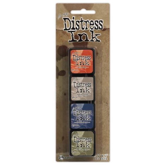 Tim Holtz Distress Ink Pad Mini Kit 5