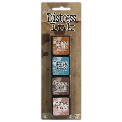 Tim Holtz Distress Ink Pad Mini Kit 6