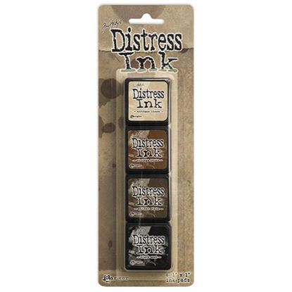 Tim Holtz Distress Ink Pad Mini Kit 3