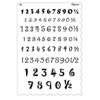 Pergamano Multi Grid No18 Numbers