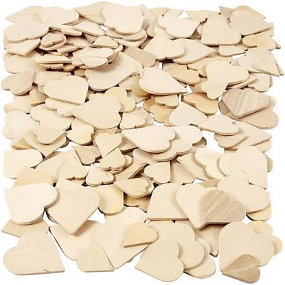 Wooden Heart Assortment
