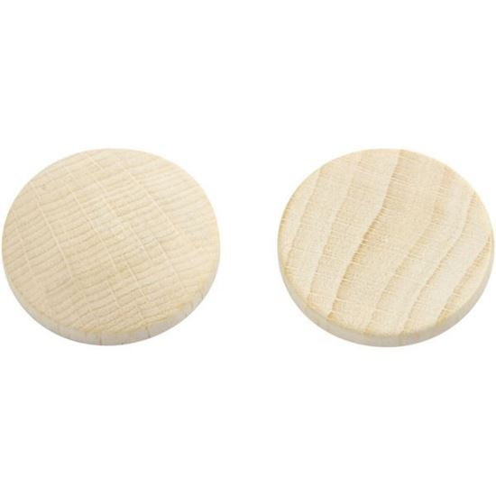 Wooden Buttons 25mm