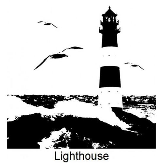 Imagination Crafts Art Stamp - Lighthouse