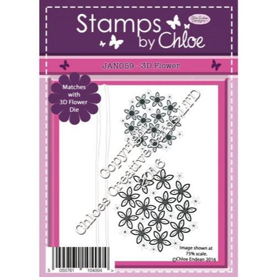 Stamps by Chloe - 3D Flower
