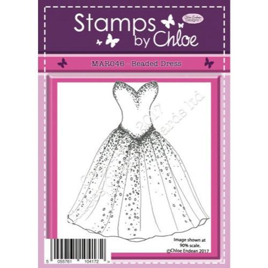 Stamps by Chloe - Beaded Dress