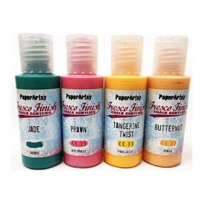 Fresco Finish Chalk Acrylic Paint - Tracy Scott Set