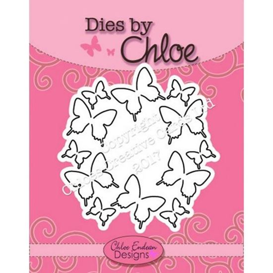 Dies By Chloe - Butterfly Circle