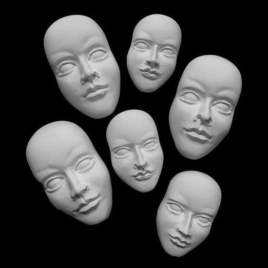 Plaster Cast 3D Faces