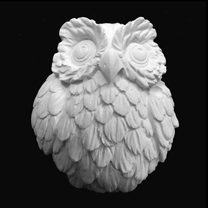 Plaster Cast  Large Owl