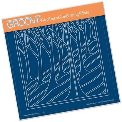 Country Hillside - Groovi A5 Square Plate -