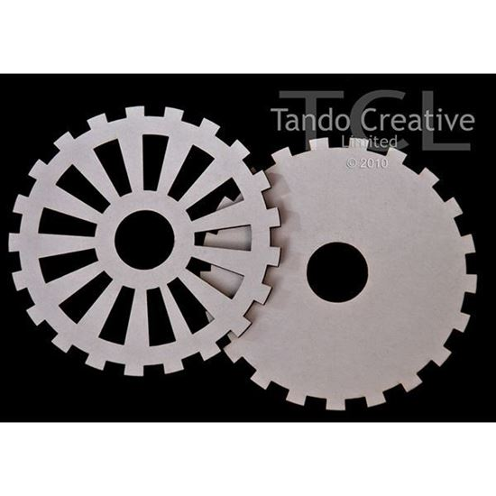 Tando Creative Greyboard Cogs 40mm