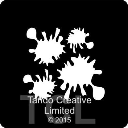 Tando Mini Mask - Splatters