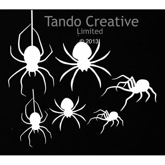 Tando Creative Greyboard Grab Bag Spiders