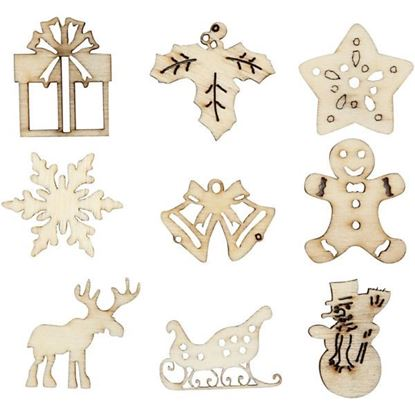 Wooden Decorations Christmas