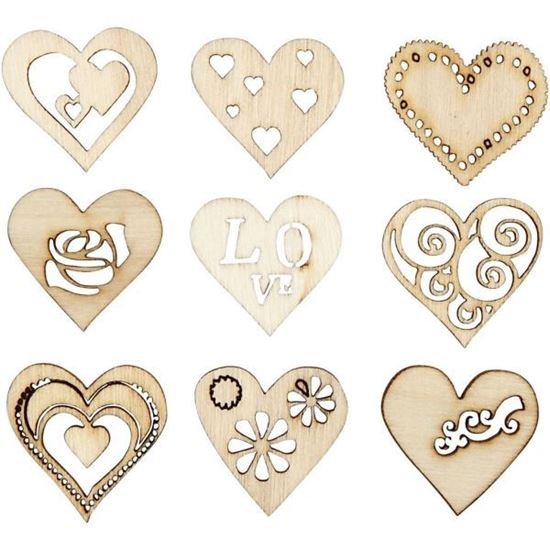 Wooden Decorations Love