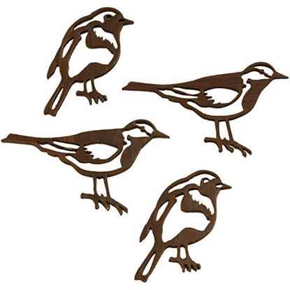 Wooden Silhouette Birds in 2 designs