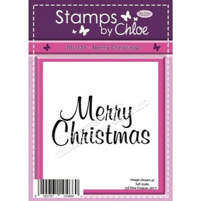 Stamps by Chloe - Merry Christmas