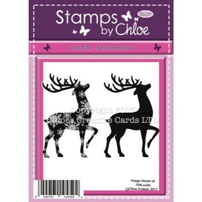 Stamps by Chloe - Reindeer Duo